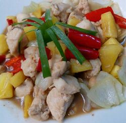 ayam fillet nanas madu (igna cooking)
